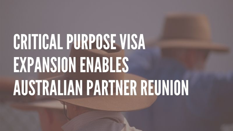 News That Australians in NZ Could Use: Critical Purpose Visa Expansion