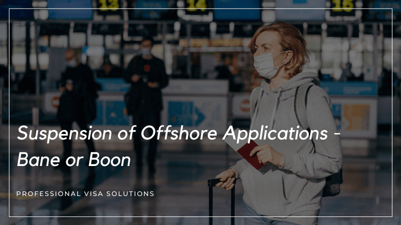 Suspension of Offshore Applications - Bane or Boon?