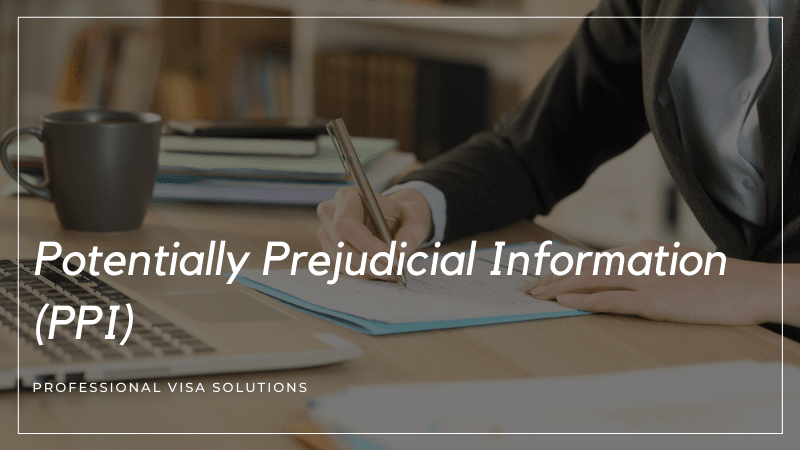 What Is Potentially Prejudicial Information (PPI)?