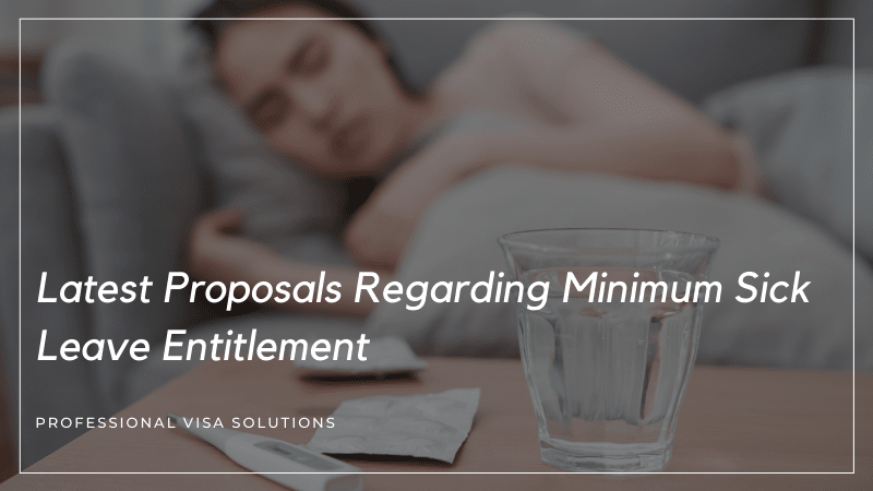 What Are the Latest Proposals Regarding Minimum Sick Leave Entitlement in NZ 2021?